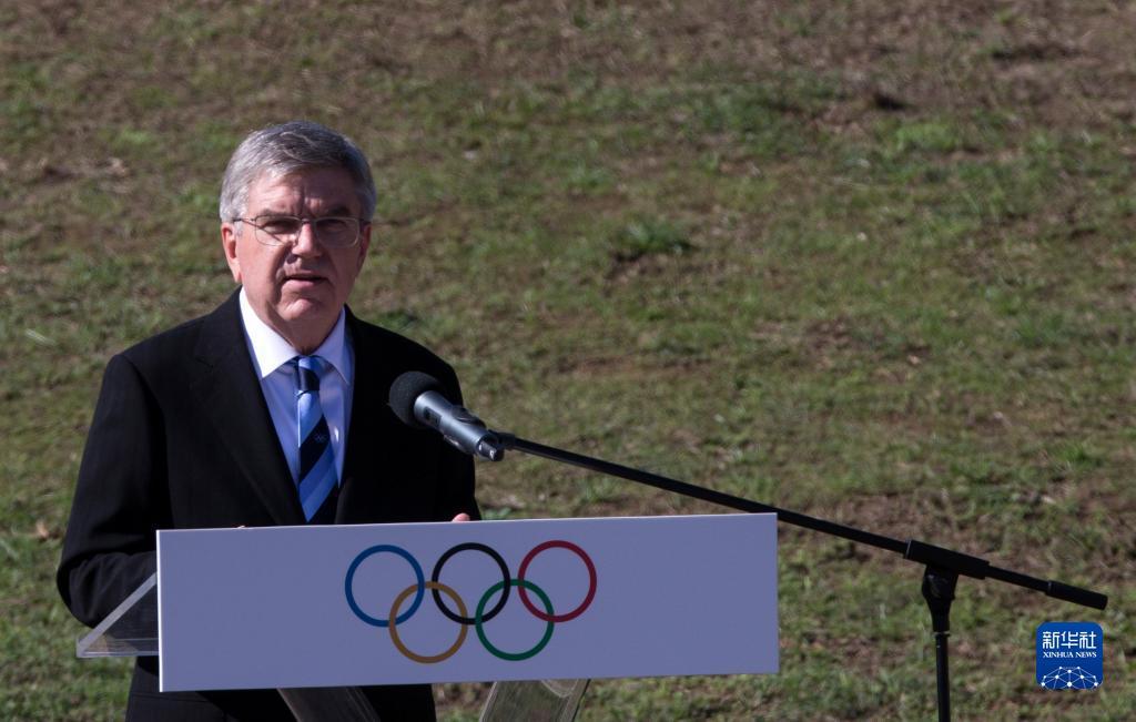 巴赫:对北京冬奥会的成功举办充满信心