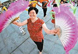 廣場舞大賽的上海玩法:全新引入電視挑戰賽,放寬年齡舞種限制