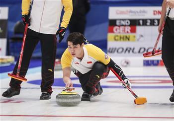 冰壺冬奧會落選賽:中國男隊戰勝德國男隊