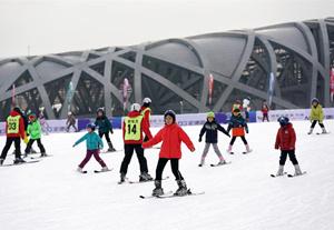 第九屆鳥巢歡樂冰雪季全面開放,春節期間也營業