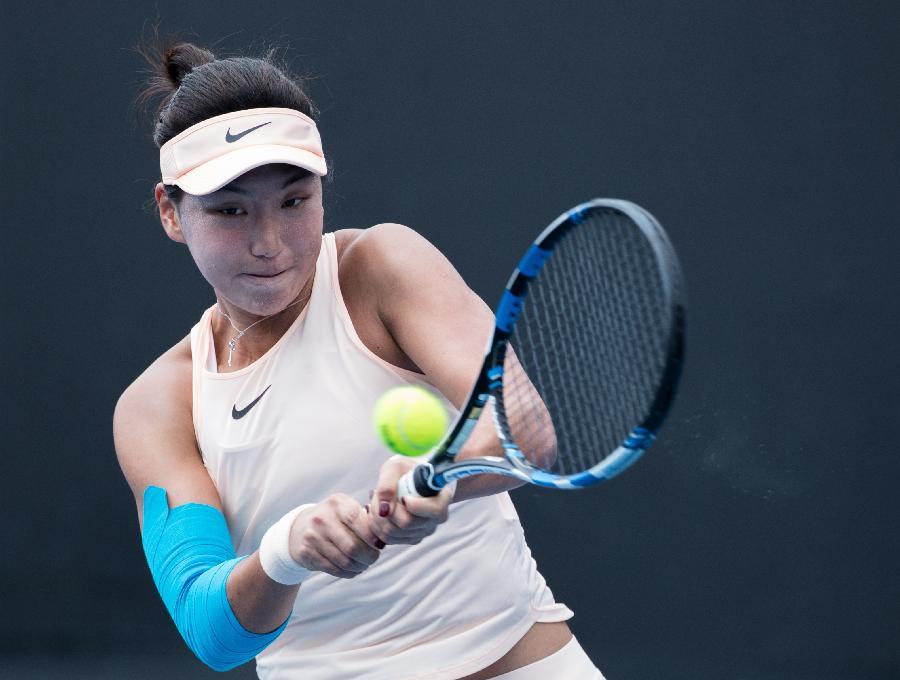 中國女網希望之星渴望比肩李娜,再戰澳網不留遺憾