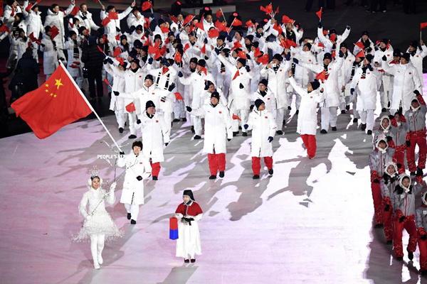 平昌冬奧會開幕式很精彩,中國代表團的冬奧記憶更值得珍藏