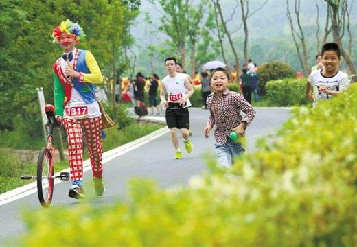 鄉約武勝(1)|2018武勝鄉村馬拉松報名啟動,五一小長假第二天開跑