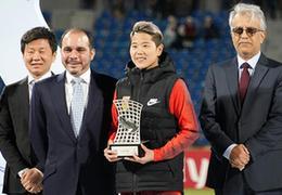 女足亞洲杯:中國擊敗泰國隊獲季軍,李影穿金靴