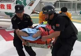 長馬賽場選手衝線後昏迷,組委會動用直升機18分鐘極速救援