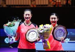 韓國公開賽落下帷幕,中國隊包攬女單、女雙冠亞軍