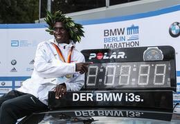 肯尼亞奧運冠軍基普喬蓋打破馬拉松世界紀錄