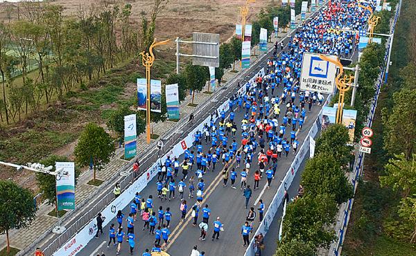 直播|中國移動·2018樂山國際半程馬拉松賽