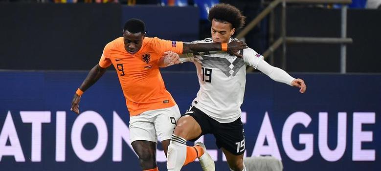 歐足聯國家聯賽:德國戰平荷蘭