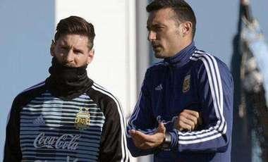 阿根廷臨時主帥斯卡羅尼:沒執教梅西是唯一遺憾