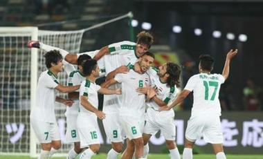 特寫:大屏幕看球真不一樣——亞洲杯點燃伊拉克球迷觀賽熱情