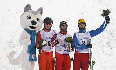 李忠霖為中國代表團奪得2019年大冬會首枚獎牌