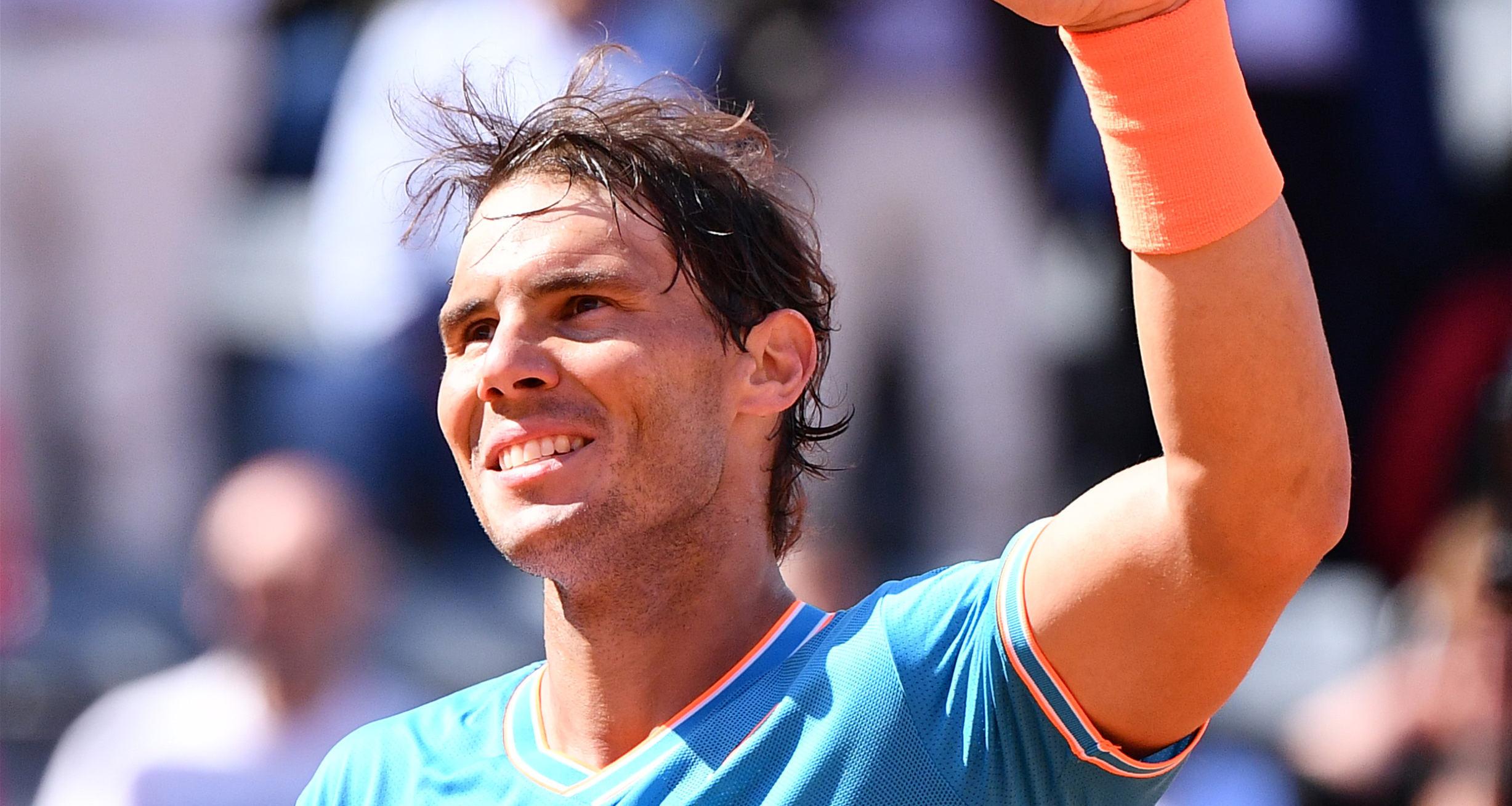 意大利網球公開賽:納達爾晉級半決賽