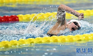 二青會遊泳:王簡嘉禾200米自由泳摘銅 李冰潔獲第三塊銀牌
