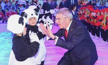 巴赫:吉祥物將成為2022年冬奧會的傑出大使