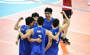 東京奧運會男排亞洲區落選賽賽程確定 中國隊首戰哈薩克斯坦