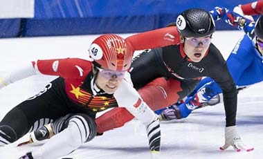 短道速滑世界杯蒙特利爾站中國隊3金1銀2銅收官