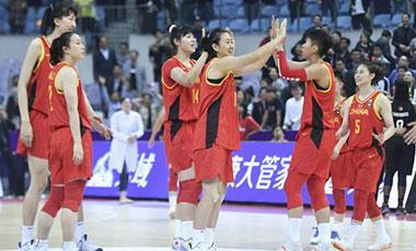 東京奧運會資格賽亞大區預賽中國女籃名單確定