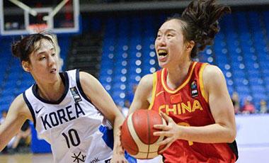 女籃東京奧運會資格賽:中國首場一分惜敗韓國