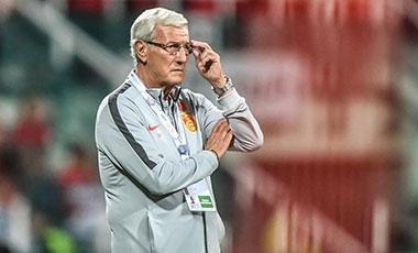 裏皮宣布辭去中國男足主教練職務