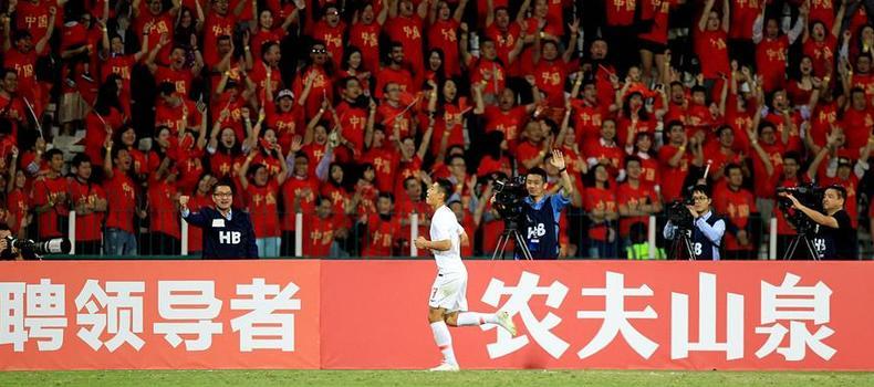 足球世預賽:中國隊不敵敘利亞隊
