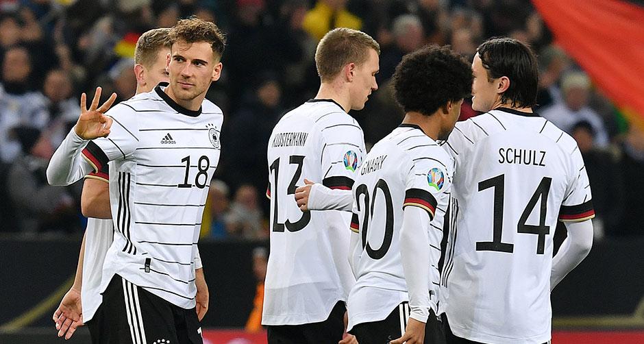 歐預賽:德國小組出線