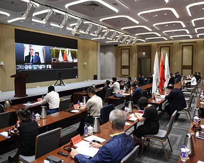 國際奧委會北京2022年冬奧會協調委員會召開第五次會議