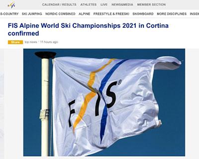 國際雪聯:2021年高山滑雪世錦賽將如期舉辦