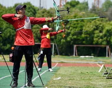 射箭項目東京奧運會模擬賽決出男團冠軍