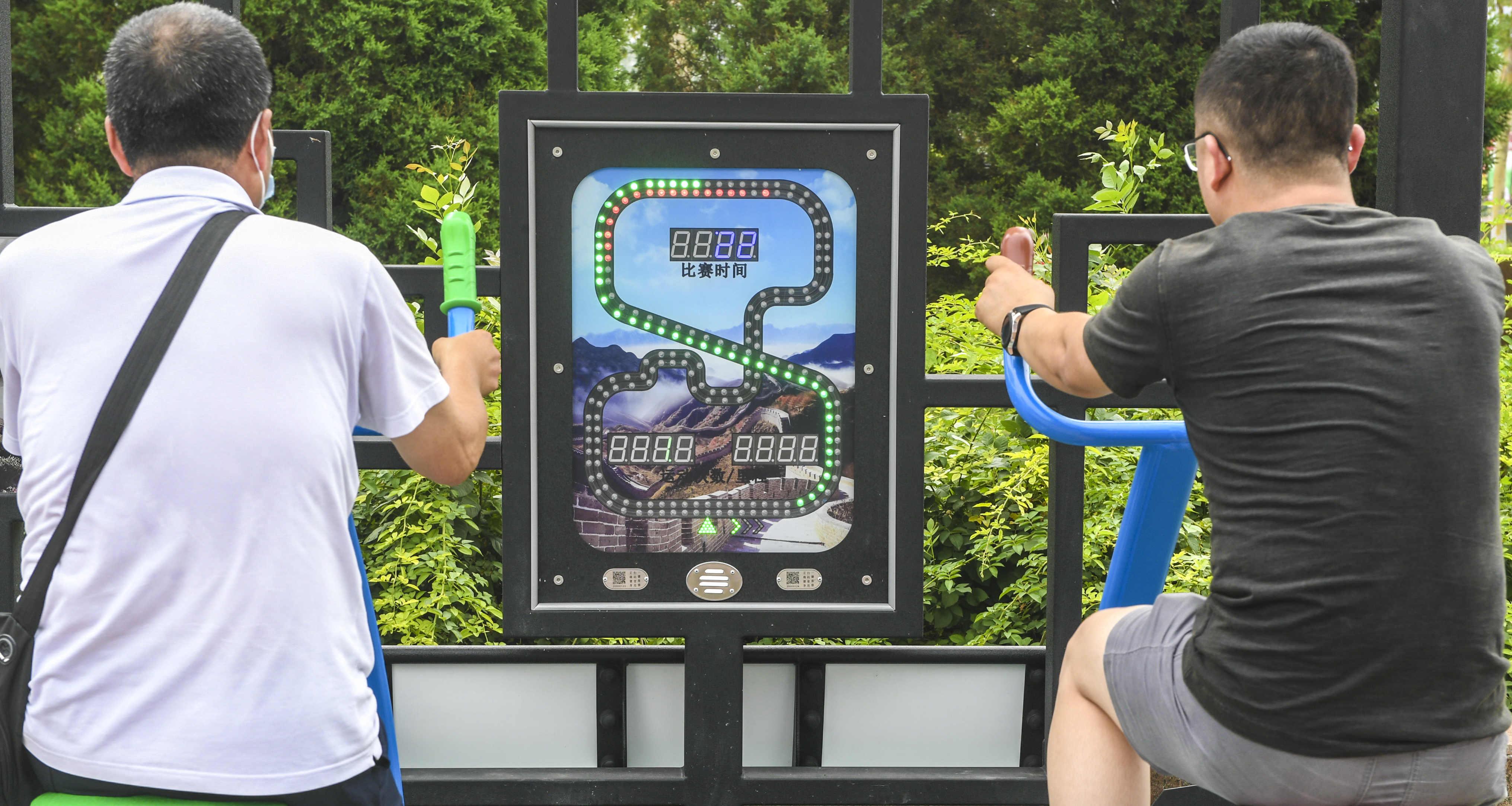 河北廊坊:智能健身器材讓百姓享受家門口的運動樂趣