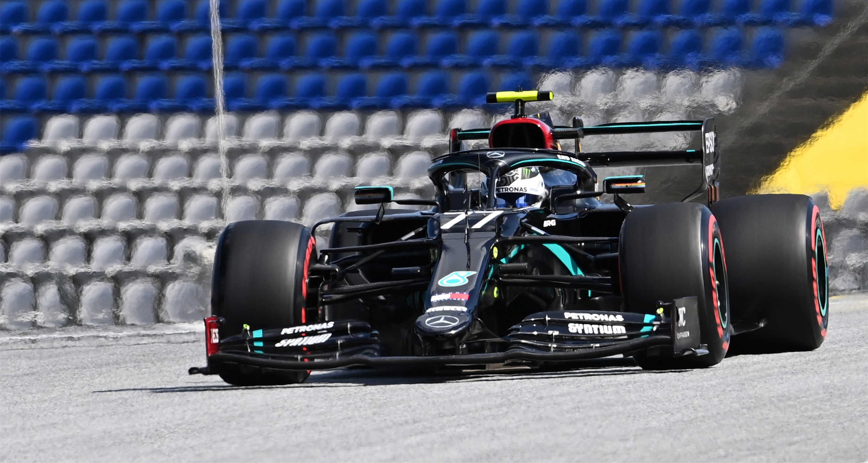 F1奧地利站:博塔斯獲得桿位