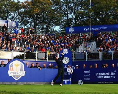 萊德杯高爾夫球賽因新冠肺炎疫情推遲