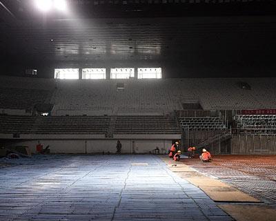 北京冬奧會北京賽區15塊冰面今年年底前將全部具備制冰條件