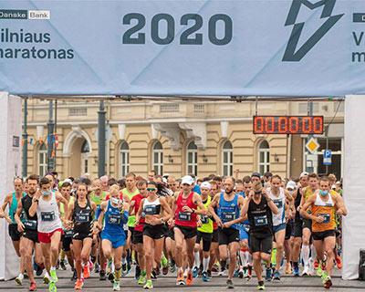 立陶宛舉辦維爾紐斯國際馬拉松賽