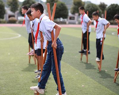 我愛體育課:兒時遊戲走進體育課堂