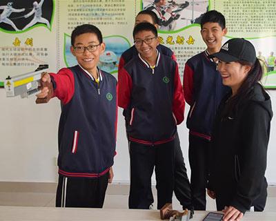 全民健身:校園裏的射擊體育興趣課
