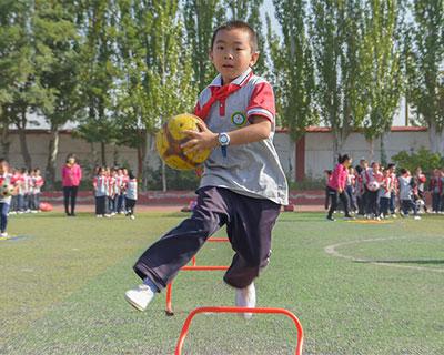全民健身:陽光體育 多彩課間