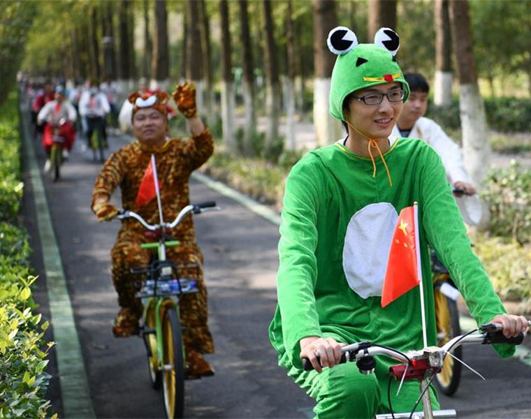 全民健身——合肥舉行騎行嘉年華活動