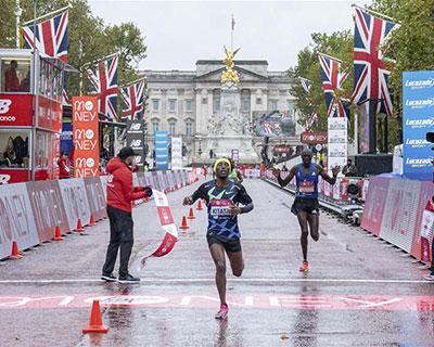 倫敦馬拉松男子精英組賽況