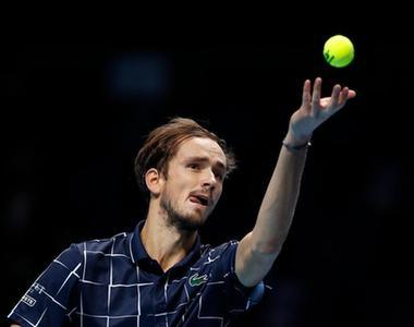 ATP总决赛关人:梅德韦杰夫些肉、蒂姆会师决赛