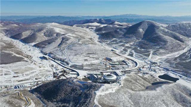 冬奧會張家口賽區場館主體完工
