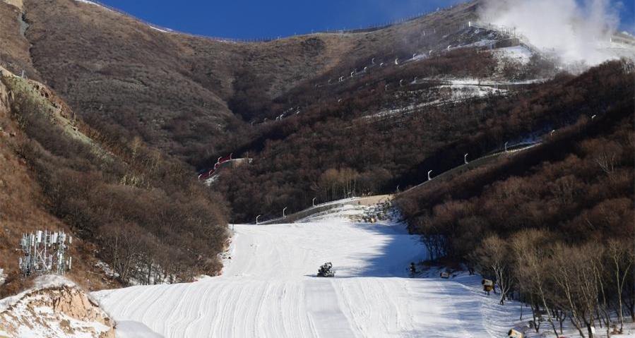 北京2022年冬奧會延慶賽區四大場館完工