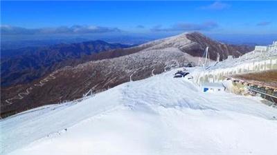 北京冬奧會延慶賽區冬奧滑雪戰隊今冬首次開訓