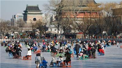 全民健身——北京:什剎海上享冰趣
