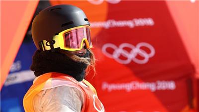 走近冬奧|美國單板滑雪運動員朗蘭:超級期待北京冬奧會
