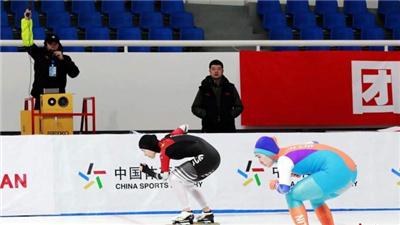 全國速滑錦標賽:高亭宇獲男子短距離全能500米第一次比賽冠軍