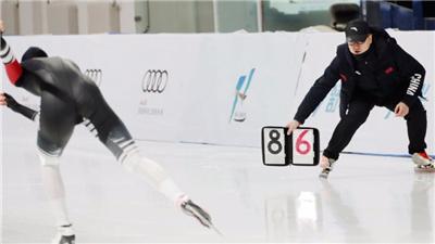 走近冬奧|全國速滑冠軍賽:寧忠岩獲得男子1000米冠軍
