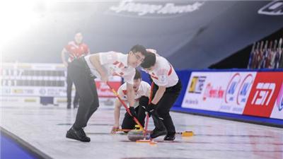 走近冬奧|2021年男子冰壺世錦賽中國隊斬獲首勝