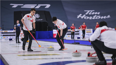 走近冬奧|男子冰壺世錦賽中國隊遭遇連敗