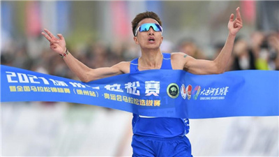 奧運門票之爭落定 彭建華、張德順分獲徐州馬拉松男女冠軍